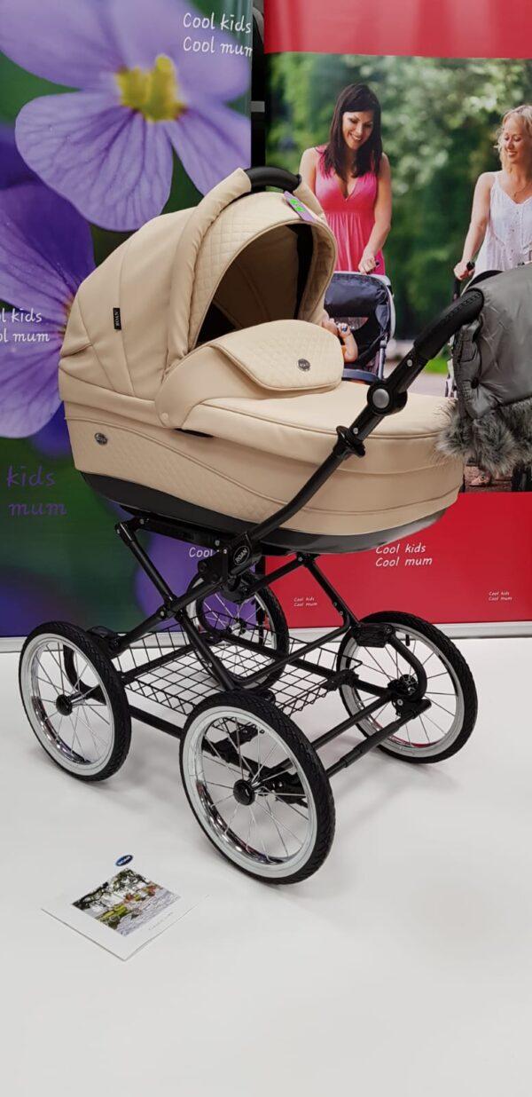 Klasiski bērnu ratiņi ROAN EMMA E18 2in1