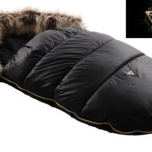 Спальный тёплый мешок в коляску бренд JUNAMA black