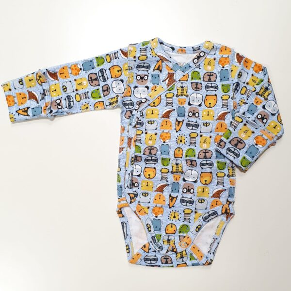 Боди для новорожденных с длинными рукавами