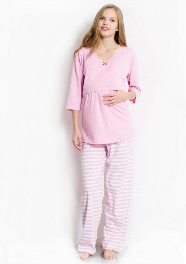 Pidžama krekls un bikses Topošām māmiņām