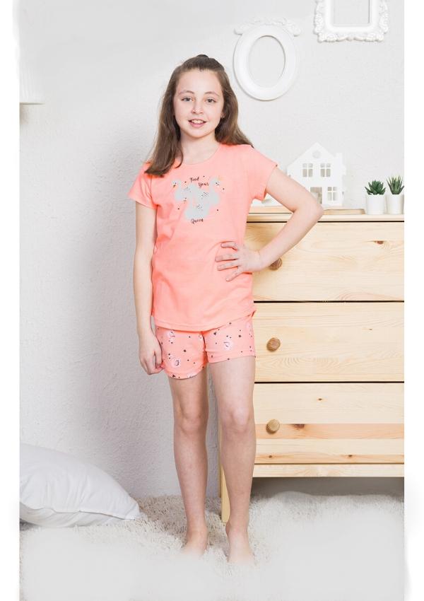 Пижама для девочек FLAMINGO