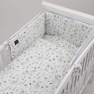 Bērnu gultas veļas komplekts PUER no 6 daļam
