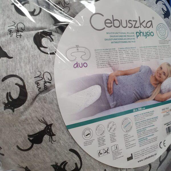 Многофункциональная подушка для беременных Котики