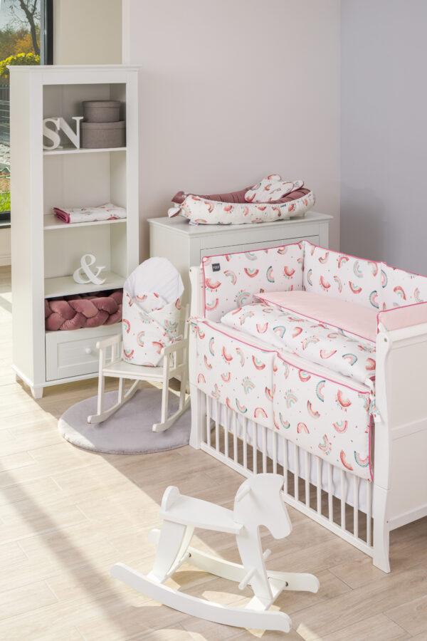 Apmale bērnu gultiņai PUER RAINBOW 180 cm
