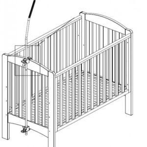 Комплект детского постельного белья PUER из 6 частей