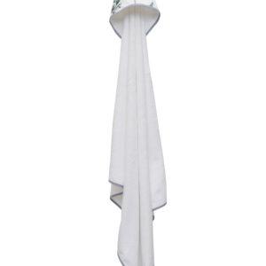 Bērnu dvielis ar kapuci SAFARI white 100x100cm PUER