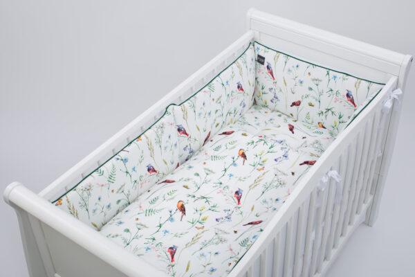 Bērnu gultas kokvilnas auduma veļas komplekts PUER 360