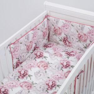 Bērnu gultas veļas komplekts TUTTOLINE no 6 daļam ROSE