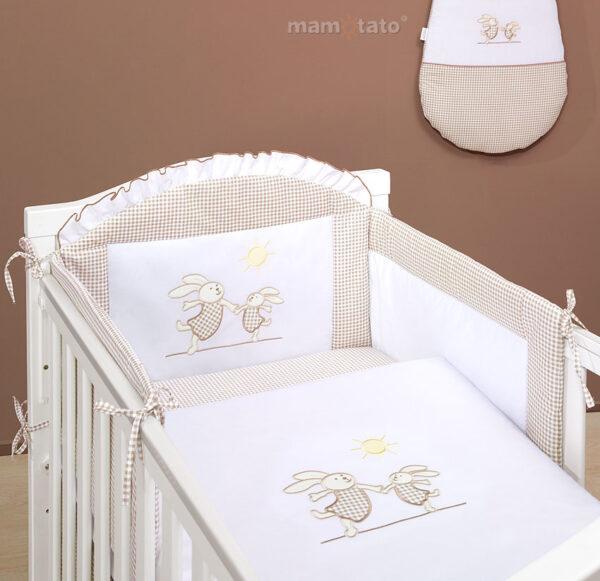 Bērnu gultiņas aizsargapmale 180 cm