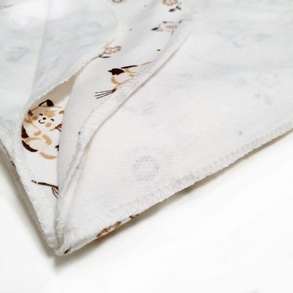 Zīdaiņu siltie Kokvilnas Autiņš 90 x 85 cm Dažādas krāsas
