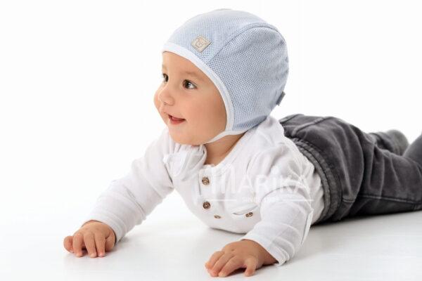 Хлопковая шапочка 36 размер