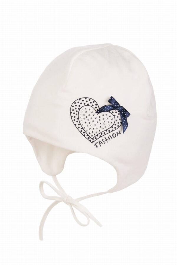 Kokvilnas cepure meitenēm ADELKA 36 izm