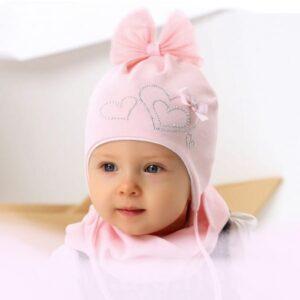 Хлопковая шапочка 36-38 размер
