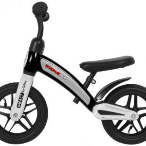 Бегунок с металлической рамой и с надувными колесами QPLAY