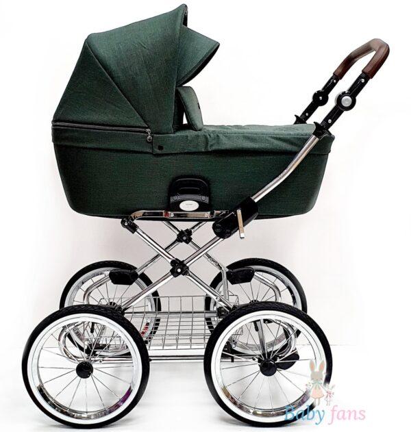 Bērnu rati ROAN COSS CLASSIC Night Green 2in1