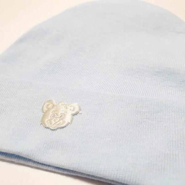 Kokvilnas cepure Vienkrāsaina 0-1 men