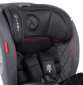Autokrēsliņš COLETTO CASCADE ISOFIX RED (0-36 kg)