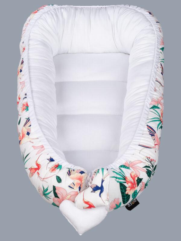 Kokons ovālā forma jaundzimušajiem Versace PUER