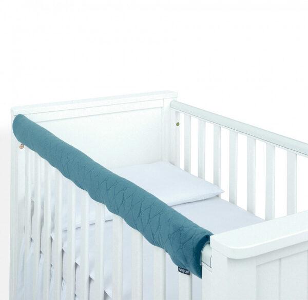 Bērnu gultiņas AUGŠĒJĀ AIZSARDZĪBA – VELVET