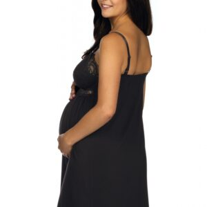 Женственная сорочка Lupo black