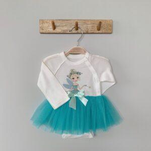 Боди для новорожденных с длинными рукавами ballerina