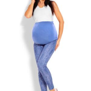 Легинсы для беременных  jeans look blue