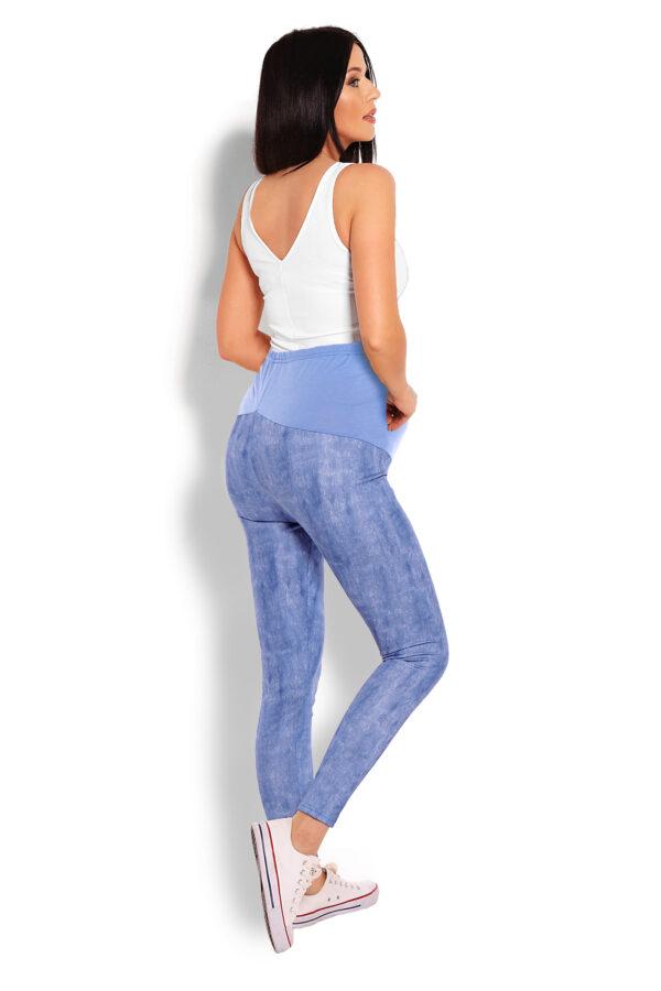 Grutnieču legingi jeans look blue