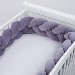 Apmalīte bizīte bērna gultiņai PUER 08 Premium