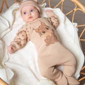 Комбинезон для новорожденных Рысь