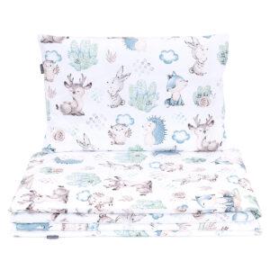 Bērnu gultas veļas komplekts 90 * 120 cm JEZ no 4 daļam
